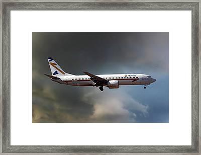 Novair Boeing 737-85f Framed Print
