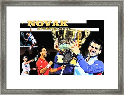 Novak Framed Print by Christopher Finnicum