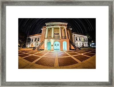 November 2016 Town Of Walterboro South Carolina Usa - Twon Of W Framed Print by Alex Grichenko