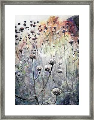 November Framed Print by Arleana Holtzmann