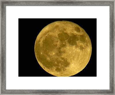 November Full Moon Framed Print by Eric Switzer