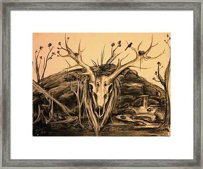 November Framed Print by Gwen Gardner