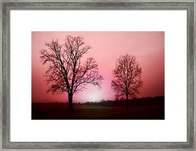 November Morning Framed Print by Patricia Motley