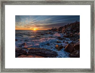 November Morning Framed Print by Paul Noble
