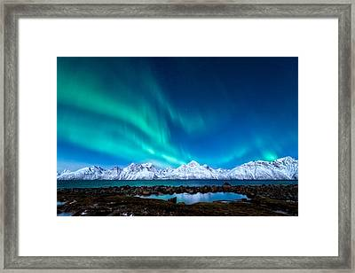 November Night Framed Print by Tor-Ivar Naess