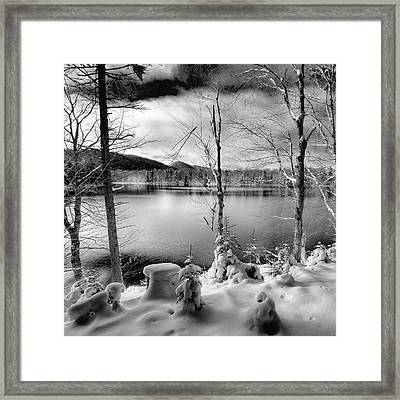 November On West Lake Framed Print by David Patterson