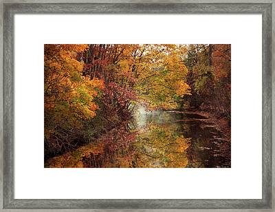 Framed Print featuring the photograph November Reflections by Jessica Jenney