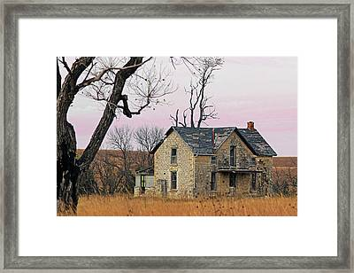 November Remnant Framed Print by Christopher McKenzie