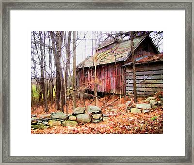 November Stark Framed Print by Betsy Zimmerli