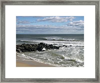 November Wind Framed Print