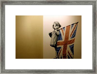 Now A Grandmother Framed Print by Jez C Self