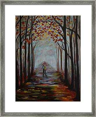 Now And Forever Framed Print