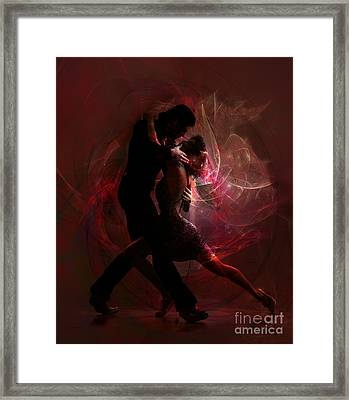 Framed Print featuring the digital art Now And Forever by Shanina Conway