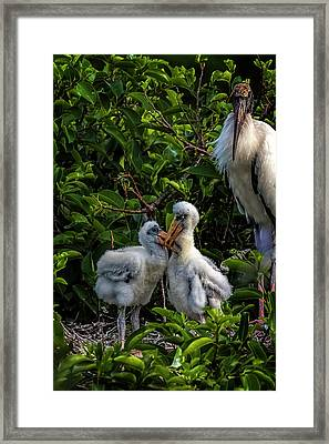 Now, Children... Framed Print
