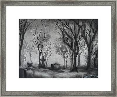 Now I Lay Me Down To Sleep Framed Print by Carla Carson