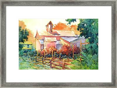Now It's A Winery No. 1 Framed Print