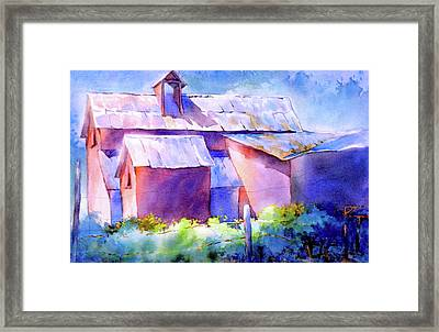 Now It's A Winery, No. 2 Framed Print