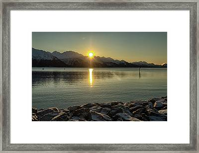 Framed Print featuring the photograph Now That Is A Pretty Picture by Michael Rogers