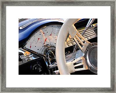 Now That's A Dashboard Framed Print