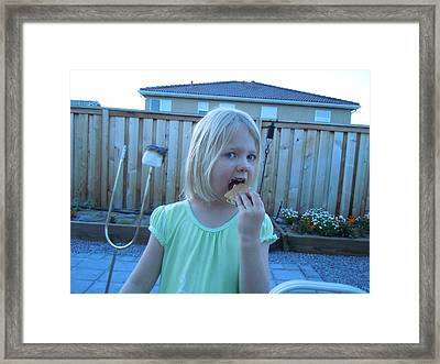Framed Print featuring the photograph Now This Is My Kinda Girl by Dan Whittemore