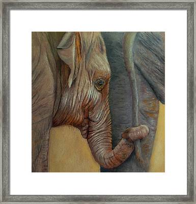 Now You Hold On Tight Framed Print