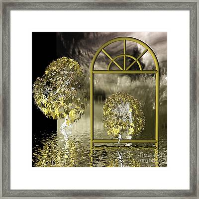 Nowhere-land Framed Print