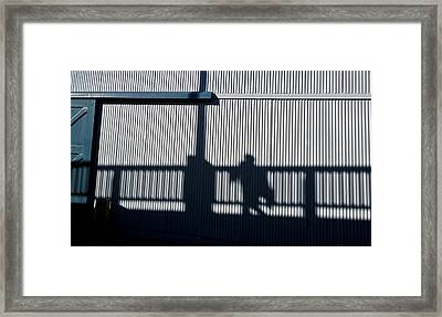 Framed Print featuring the photograph Nowhere Man by Tom Vaughan