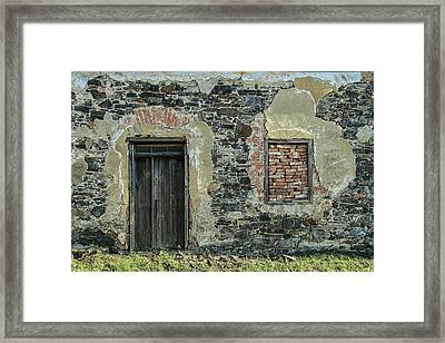 Nowhere Man's Place Framed Print by Michal Jansa
