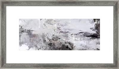 Nowhere Framed Print