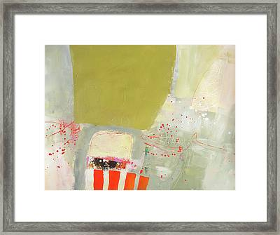 Now's The Time Framed Print