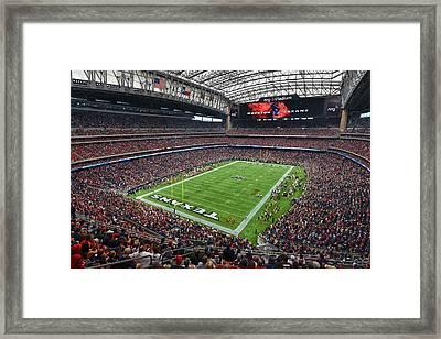 Nrg Stadium - Houston Texans  Framed Print