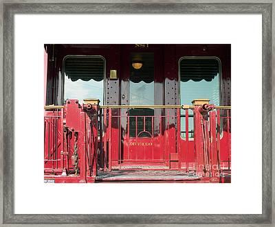 Ns 1 Virginia Framed Print
