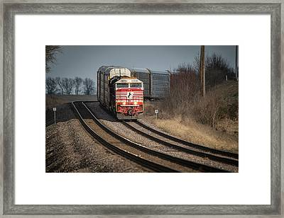 Ns 911 Heritage Unit At Princeton In Framed Print by Jim Pearson