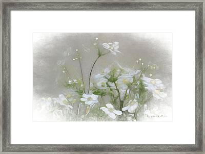 Nuage Blanc Framed Print