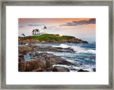 Nubble Light Framed Print