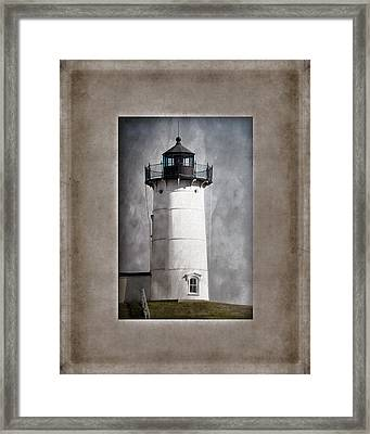 Nubble Light Maine Framed Print by Carol Leigh