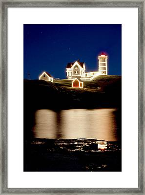 Nubble Stars Framed Print by Greg Fortier