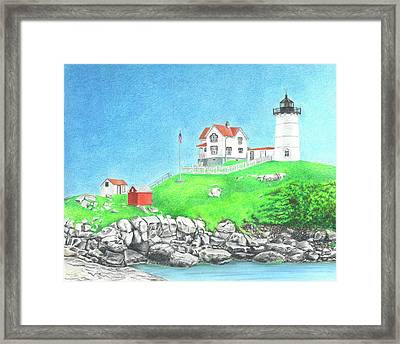 Nubble Framed Print by Troy Levesque