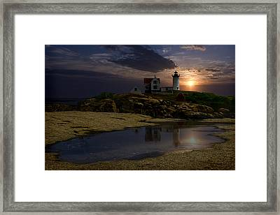Nubble Framed Print by Wade Aiken