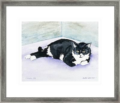 Nubby Framed Print by Eileen Hale