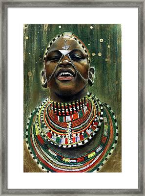 Nubian Dream Framed Print