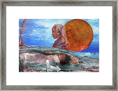 Nubian Dream  Framed Print