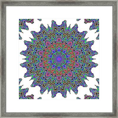 Nuclear Cell Framed Print by Ron Brown