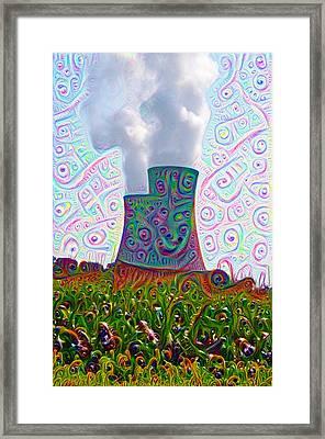 Nuclear Dreams Framed Print