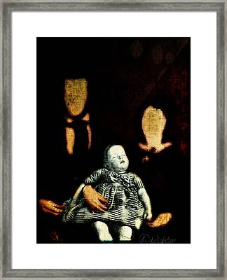 Framed Print featuring the digital art Nuclear Family by Delight Worthyn