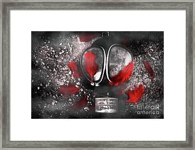 Nuclear Smog Framed Print