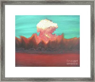 Nuclear Waste Framed Print by Caleb Grow