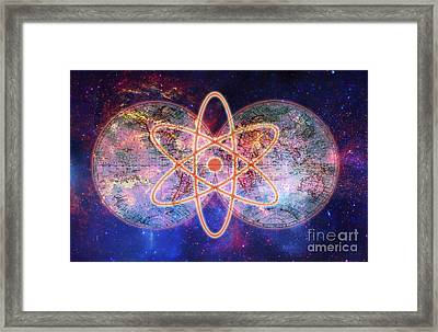 Nuclear World Framed Print by George Mattei