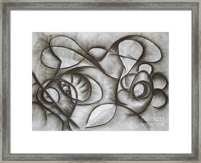 Nucleus Of Time Framed Print