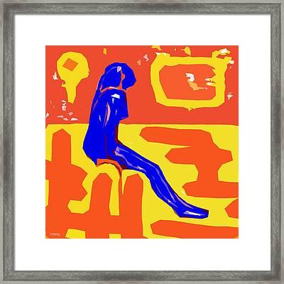 Nude 16 Framed Print by Patrick J Murphy